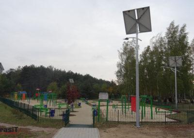 Solarna lampa uliczna 40W Łódź - BrasiT a
