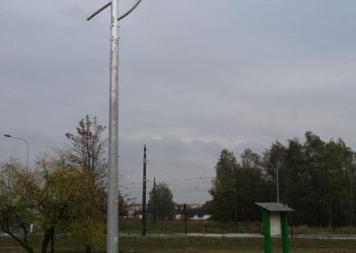 Solarna lampa uliczna 40W Łódź - BrasiT f